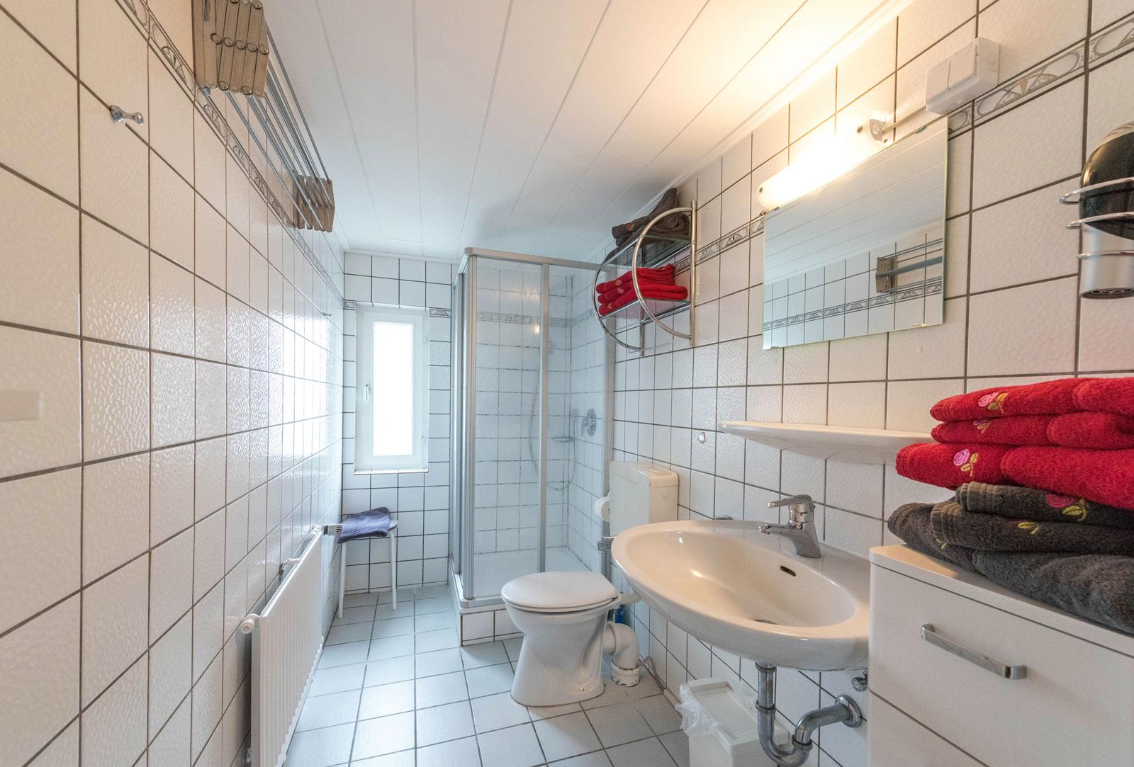 Ferienwohnung Norderney Dornröschen Wohnung 2 Badezimmer, Badezimmer Ideen