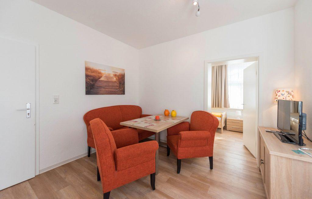 ferienwohnung f r 4 personen im haus hannelore in der janusstra e. Black Bedroom Furniture Sets. Home Design Ideas