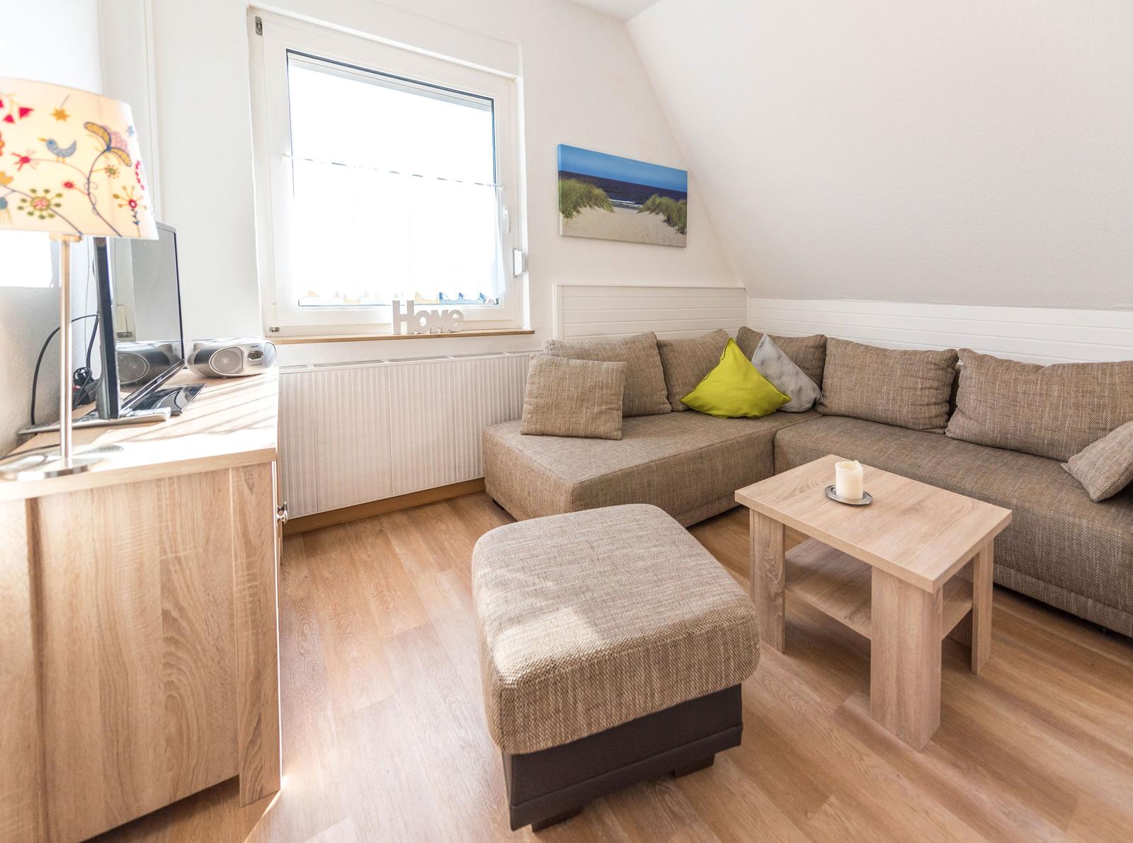 Sehr schöne und gemütliche Ferienwohnung mit separatem Schlafzimmer!