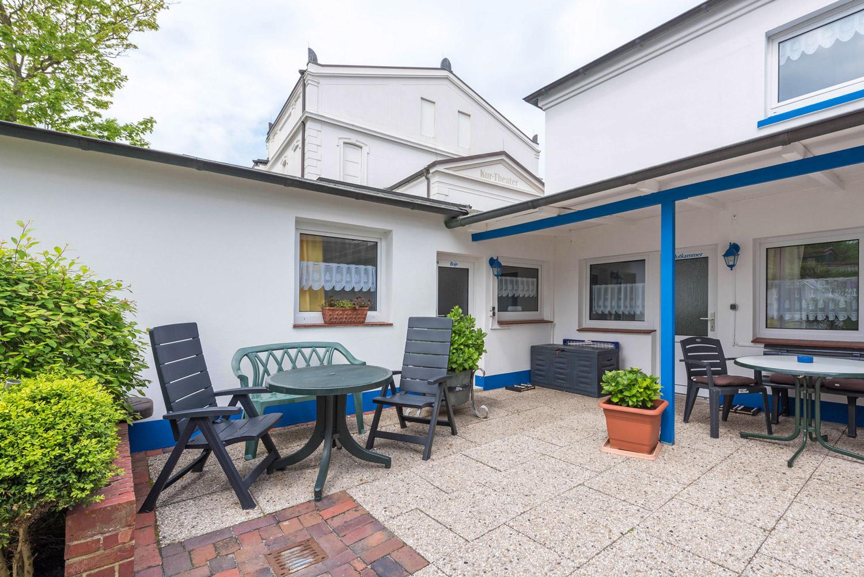Apartments auf Norderney mieten Haus Albatros auf der