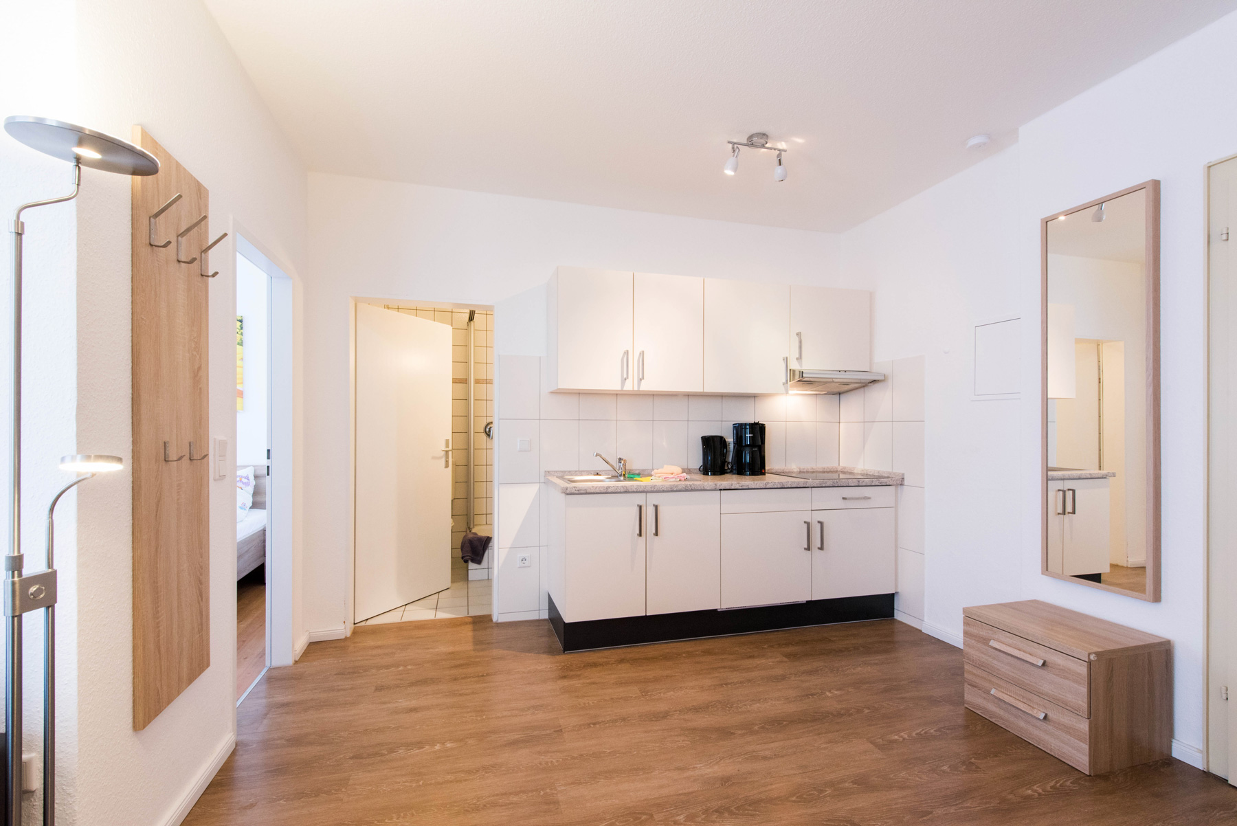 ferienwohnung norderney haus albatros wohnung 1 k che ferienwohnung norderney. Black Bedroom Furniture Sets. Home Design Ideas